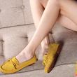 豆豆鞋女鞋春夏2015流苏平底女鞋浅口单鞋潮真皮平跟豆豆鞋女