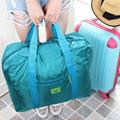 2015新款商务折叠旅行袋 短途手提旅行包 男女行李无拉杆包打包袋