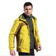 Laynos/雷诺斯正品 情侣冲锋衣 男女三合一两件套防风保暖外套潮130A028A