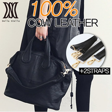 [COW LEATHER]SPECIAL PRICE!!HIGH QUALITY LEATHER SHOULDER IT BAG_DLH33
