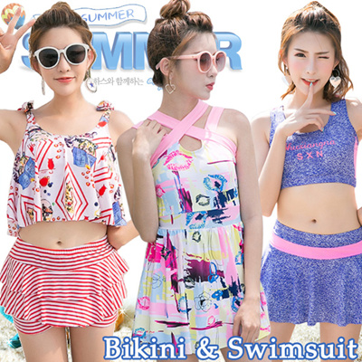 2018性感比基尼泳装★温泉泳装★游泳装★2件装3件装4件套装★沙滩裙裙装