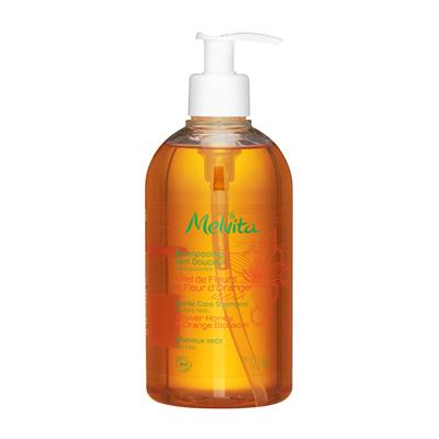 Melvita温和护理洗发水干发500毫升橙花蜂蜜滋养#16962