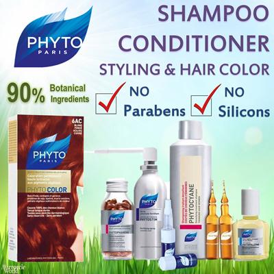 PHYTOFULLANGE洗发水|护发素|头发颜色|头发造型:Phytocyane Phytolium Phytocolour