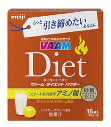 VAAM饮食粉粉红葡萄柚味6g×16袋日本