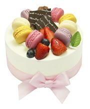 莓满马卡龙蛋糕 Berry Berry Macaroon Cake