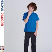 GILDAN儿童精梳棉短袖T恤少年圆领打底衫