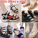 2018 Ladies Sandals / Sexy Heels / Slippers / Wedges Flats / Casual Platform shoes / Beach shoes