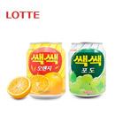 【海地村】韩国食品进口 乐天果肉果汁饮料 238ml|橙汁葡萄|倍吉美尔微甜型B型豆奶乳190mlx16  宾格瑞香蕉味牛奶 200ml 零食