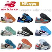 免费发送,New Balance999系列男女共用运动鞋。