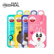 【韩国进口】MEDIHEAL可莱丝美迪惠尔卡通动物面膜10片 四款可选