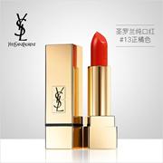 【香港直邮】YSL 圣罗兰纯口红3.8g|#13正橘色|质地滋润|细腻浓郁|Rouge Pur Couture #13 Le Orange3.8g|100%正品