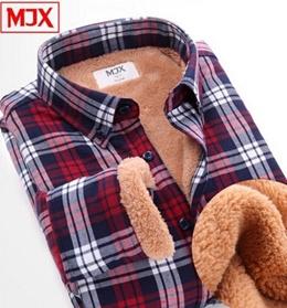 11 color 5 size / deficit resolution / TimeSale limit autumn and winter men s rmal shirt plus thick velvet shirt men plaid long-sleeved shirt shirt