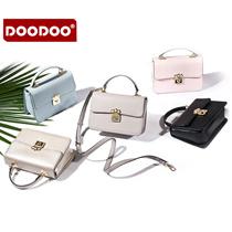 doodoo2017年春季新款女包小方包韩版时尚休闲单肩斜挎手提包包