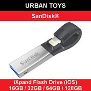 原装SANDISK iXPAND闪存驱动器16GB / 32GB / 64GB / 128GB /新加坡卖家/现货