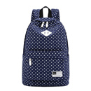 Fashionable Canvas Backpack for Female Students Leisure Travel Backpack