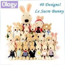 40设计!现货!正宗日本Le Sucre兔子娃娃法国糖兔毛绒软玩具