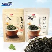 【海地村】韩国食品进口东远两班名品炒海苔50g/袋  名品 鳀鱼+虾米炒海苔50g  两种口味任选