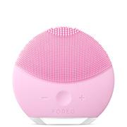 日本直邮  FOREO LUNA mini2 露娜洁面仪迷你电动充电式毛孔清洁硅胶洗脸仪 樱桃红色装