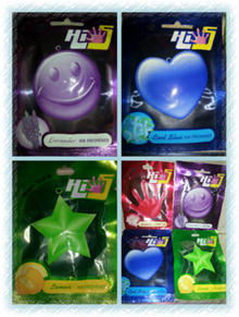AIR FRESHENER〜Hi5〜Lemon / Cool Blue / Lavender