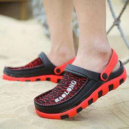 上匠风华 2017夏款 EVA网布合成 男子凉拖鞋A820  标准运动鞋尺码