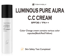 [TONYMOLY]★2016品牌新品★LUMINOUS PURE AURA CC CREAM SPF30 / PA ++