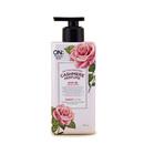 【韩国进口】LG ON香水粉色玫瑰身体乳400ml 持久花香味美白保湿滋润