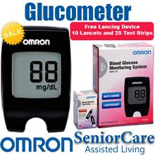 5年本地保修欧姆龙HGM-112血糖监测仪监测血糖仪系统