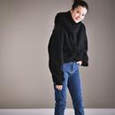 R5539 韩版洋气减龄宽松百搭加厚加绒设计感短款卫衣2019新款女米可可