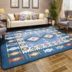 昕彤美家地中海地毯客厅 卧室床边满铺茶几毯 加厚简约长方形毯