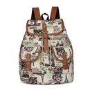 New Fashion Canvas Backpack Women Casual Life Travel with this Backpack