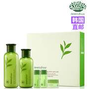 韩国直邮 innisfree/悦诗风吟绿茶水乳套装 补水保湿控油护肤品