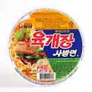 【海地村】韩国食品进口农心牛肉味碗面86g