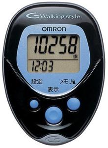 欧姆龙(OMRON)卫生计数器散步风格HJ-113黑