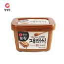 【海地村】韩国食品进口 清净园淳昌大豆酱500g 韩式大酱汤专用黄豆酱