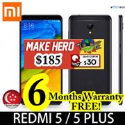 [6 MTHS保修!]小米红米5/5 Plus | 12 MP Cam | 3GB RAM / 4GB RAM | 32GB / 64GB