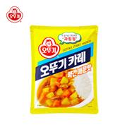 【海地村】韩国食品进口不倒翁咖喱粉 奥多吉餐厅 咖喱饭调味料微辣中辣1kg