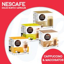 [NESCAFÉ] DolceGusto®胶囊|卡布奇诺咖啡和Macchiatos |享受泡沫牛奶咖啡