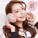 冬季保暖耳罩 女士可折叠耳包 可爱韩版发带 护耳朵毛绒 加绒防风