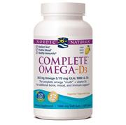 【Nordic Naturals挪威小鱼】omega-维生素d3鱼油软胶囊1000毫克-120粒