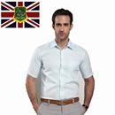保罗圣夫罗兰 2014夏装新款男士短袖衬衫商务时尚休闲韩版衬衣