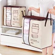 加厚无纺布棉被子收纳袋 大号衣物整理袋子带手提防潮防尘储物袋