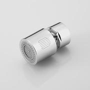 小米大白双功能龙头水嘴起泡器 360°万向出水小体积双水花防溅水