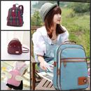 【New lady backpack 】 shoulder bag / canvas bag / PU backpack / Mens backpack / schoolbag / new fashion