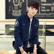RP 2016秋季新款衬衫男 韩版外套男士衬衫 纯棉男式衬衫 16200-2