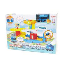 小巴士Tayo婴儿停车场车库声音播放与迷你车Tayo(蓝色公车)Tayo婴儿帕金