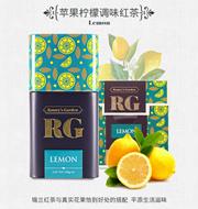蕾米花园(RameysGarden)斯里兰卡进口红茶苹果柠檬调味茶37.5g