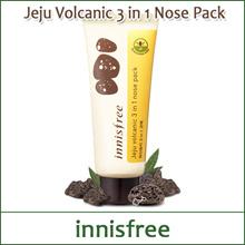 [INNISFREE]济州火山3合1鼻包40ml /包+磨砂+清洁剂