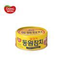 【海地村】韩国食品进口  东元金枪鱼原味 250g 油浸海鲜罐头