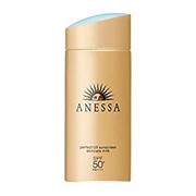 시세이도 2018년도 최신 아넷사 선크림 / ANESSA PERFECT UV SUNSREEN SKIN CARE MILK SPF 50+ / 60ml/90ml / 스킨케어 성분 함유