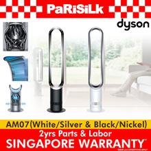 **免费送货** DYSON AM07风扇(白色/银色)(黑色/镍) - 新加坡保修